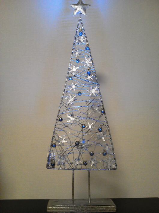 シルバーアイアンのクリスマスツリー_f0255704_19393325.jpg