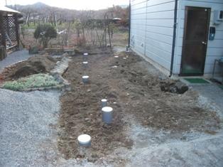 塩尻市洗馬で改修工事はじまりました。_e0180332_2124347.jpg
