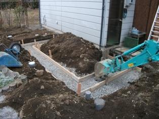 塩尻市洗馬で改修工事はじまりました。_e0180332_215581.jpg