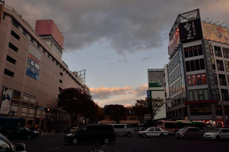 秋の仙台駅前_f0079061_20163131.jpg