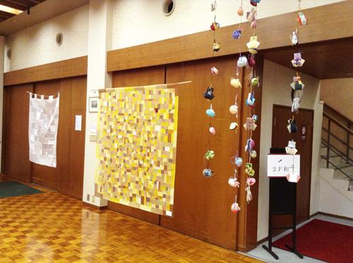 第6回 「ポジャギ工房koeグループ展 韓の国の手仕事 ポジャギ-絹と麻 素材の美(神戸) 」 いよいよ…_c0185092_1494558.jpg