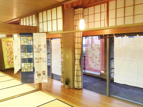 第6回 「ポジャギ工房koeグループ展 韓の国の手仕事 ポジャギ-絹と麻 素材の美(神戸) 」 いよいよ…_c0185092_153985.jpg
