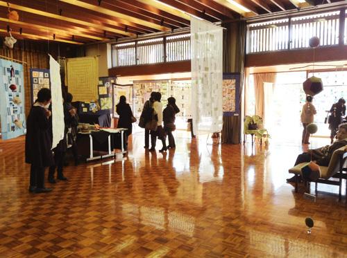 第6回 「ポジャギ工房koeグループ展 韓の国の手仕事 ポジャギ-絹と麻 素材の美(神戸) 」 1日目_c0185092_21553233.jpg