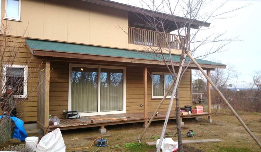 Y様邸の屋根付ウッドデッキ_f0150893_18160284.jpg