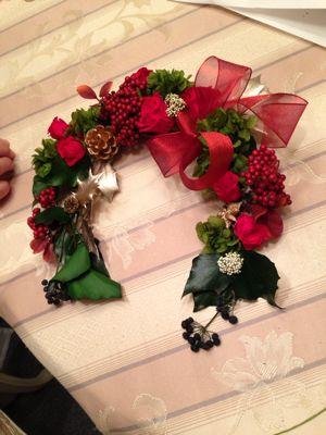 クリスマスリース クチュールレッスン_c0195496_1525648.jpg