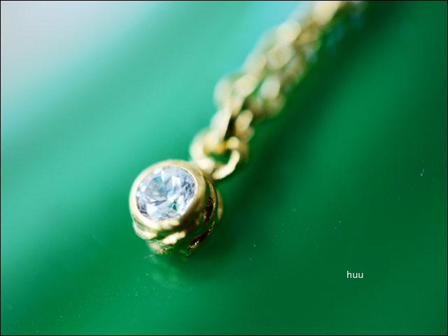huu[エイチ・ユー・ユー]AaC stone top #2 QZ wh-gc [N-602-gc] ジルコニアゴールドコーティングネックレス_f0051306_19474516.jpg