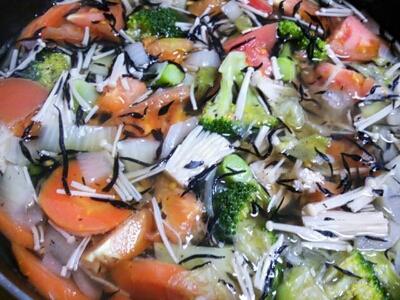 野菜ポタージュ♪_d0319812_12563273.jpg