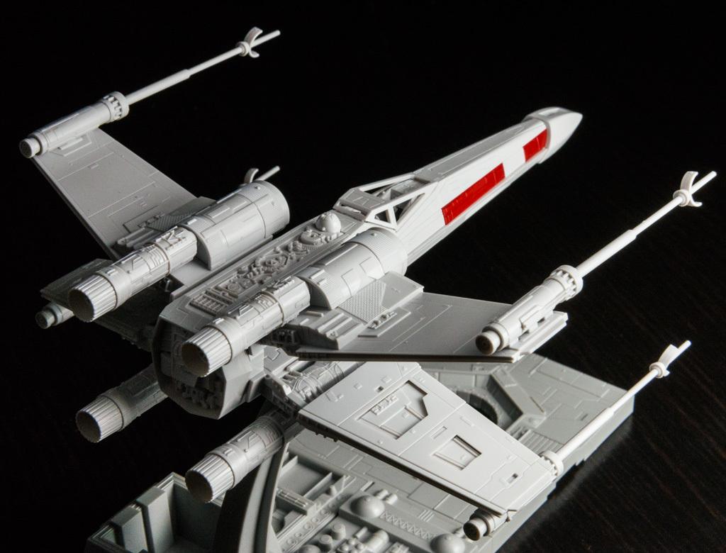 バンダイのSTAR WARSプラモデルで考える「サスティナブルな模型ライフ」の話  超音速備忘録