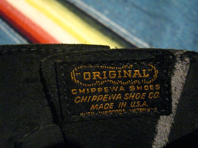 『CHIPPEWA 1940 Model』_b0121563_1950398.jpg