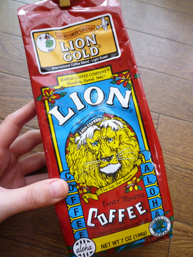 LION COFFEE LION GOLD_c0152767_21102045.jpg