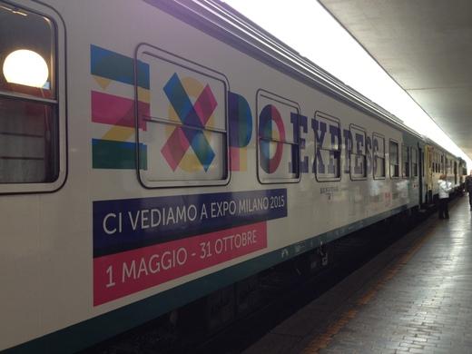 21/11/2014 今日限りのミラノEXPO EXPRESS @フィレンツェ_a0136671_050761.jpg
