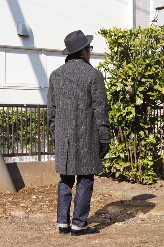 ANACHRONORM - Tweed Wool Soutien Collar Coat!!_f0020773_20301329.jpg