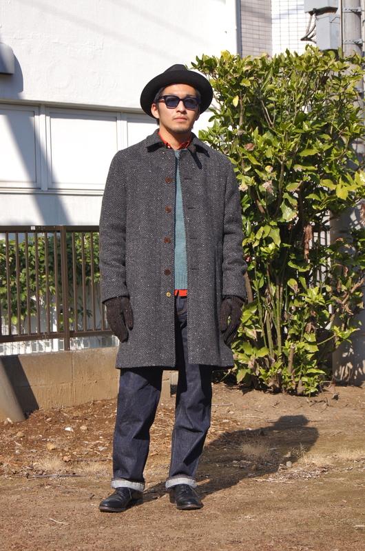 ANACHRONORM - Tweed Wool Soutien Collar Coat!!_f0020773_2030544.jpg