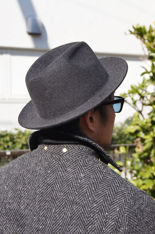 ANACHRONORM - Tweed Wool Soutien Collar Coat!!_f0020773_20311958.jpg