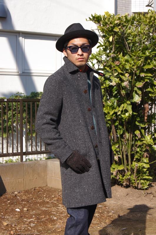 ANACHRONORM - Tweed Wool Soutien Collar Coat!!_f0020773_20321138.jpg