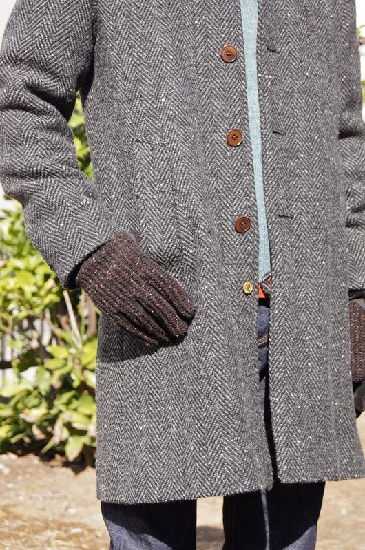 ANACHRONORM - Tweed Wool Soutien Collar Coat!!_f0020773_20331461.jpg