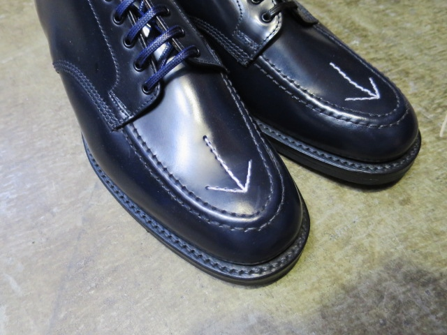 SANDERS ・・・ BROAD ALLOW SHOES (NEWカラー)!★!_d0152280_21375711.jpg