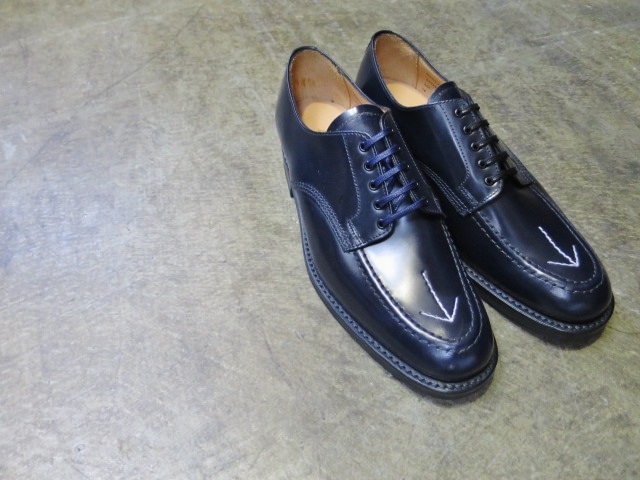 SANDERS ・・・ BROAD ALLOW SHOES (NEWカラー)!★!_d0152280_21383057.jpg