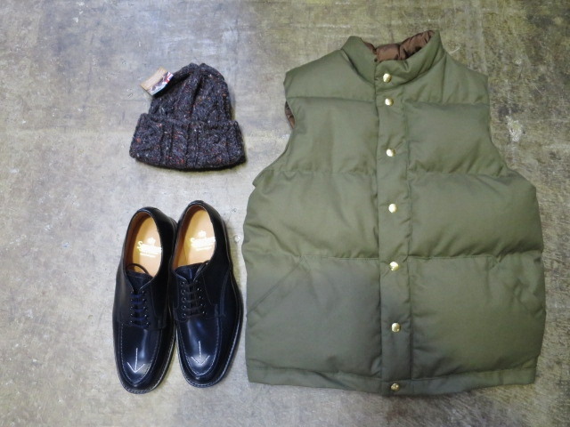 SANDERS ・・・ BROAD ALLOW SHOES (NEWカラー)!★!_d0152280_21384978.jpg