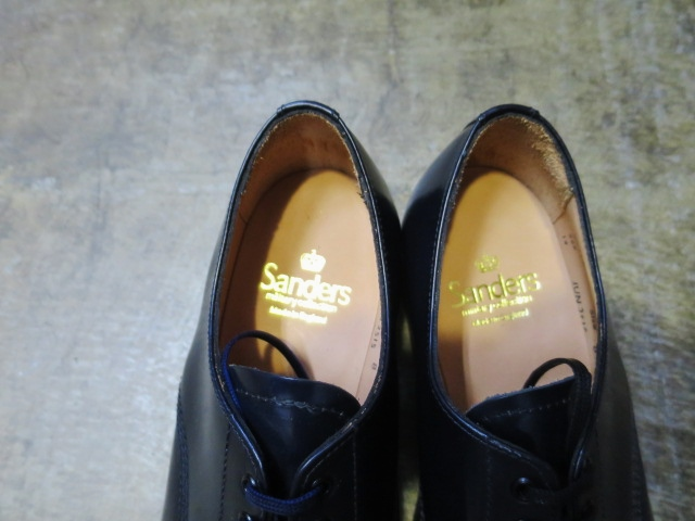 SANDERS ・・・ BROAD ALLOW SHOES (NEWカラー)!★!_d0152280_2138522.jpg