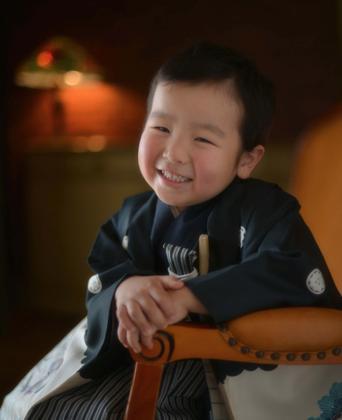 ご機嫌さんのTくんのほんわか笑顔......他にも色々な笑顔を撮る事が....._b0194185_22322557.jpg