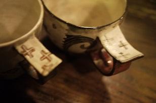 ①ウエダキヨアキさんの器が届きました=カップ・マグ編=_f0226293_9532389.jpg