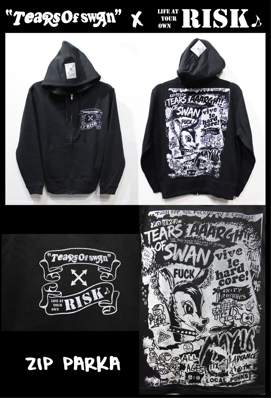 「TEARS OF SWAN×RISK」コラボアイテム(WEB SHOP)_a0097901_2092566.jpg