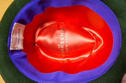 RODKEENAN NEW YORKの帽子を貰った!_b0194208_23542586.jpg