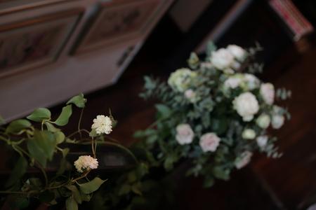 秋の装花 親族だけのご結婚式 シェ松尾松濤レストラン様へ_a0042928_2016797.jpg