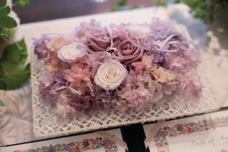 秋の装花 親族だけのご結婚式 シェ松尾松濤レストラン様へ_a0042928_20171662.jpg