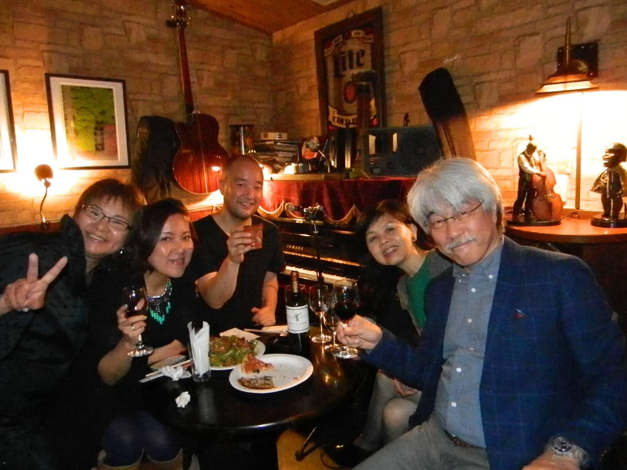 ホテルマリターレ創世でのディナーショー& 春吉CLUTCHライブ with Art Hirahara & ペペ伊藤_a0150139_06433932.jpg