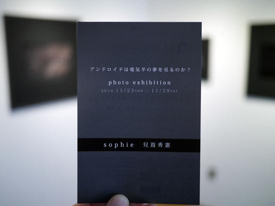 本日より sophie ×  兒嶌秀憲 二人展 開催です。_e0158242_833644.jpg