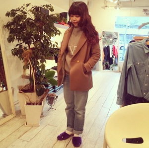 staff お気に入り original coat!!&SNAP♡ by kayo_f0053343_16251547.jpg