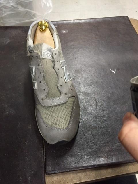 汚れが気になった、スニーカーの為に_b0226322_19013990.jpg