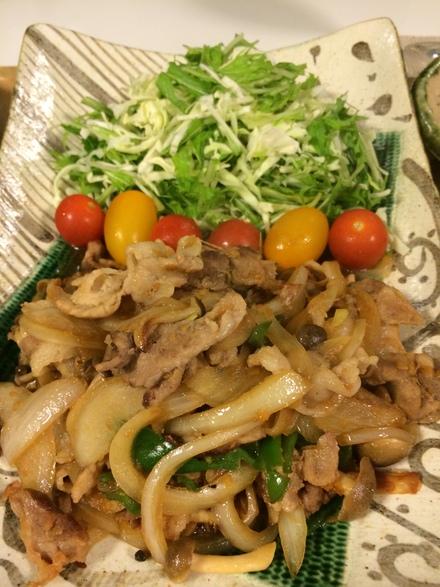 野菜多めで・・・11/24_b0247223_2122405.jpg