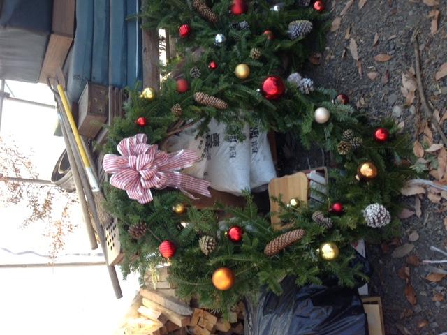 クリスマスリース_b0174425_13211350.jpg