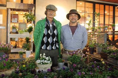 庭人さんの寄せ植えセミナー開催しました!_d0237564_17403670.jpg