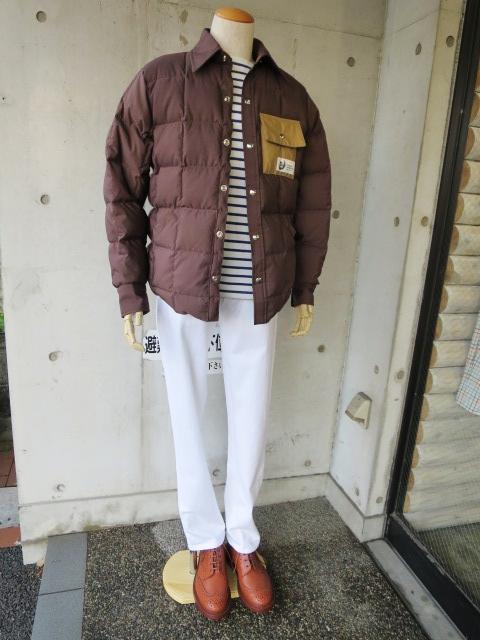 Crescent Down Works ・・・ 当店フル別注 DOWN SHIRTS JACKET (後発カラー)!★!_d0152280_14473953.jpg