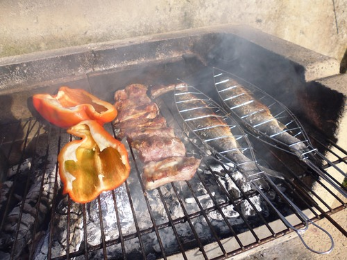 リラックスTIMEと美味しいお家BBQ@山の家!!_c0179785_19571323.jpg