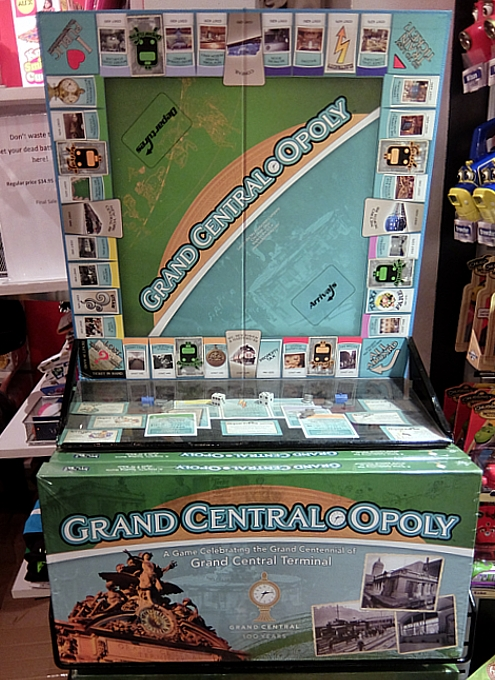 グランド・セントラル駅構内にある地下鉄博物館のホリデー・トレイン・ショー_b0007805_23203111.jpg