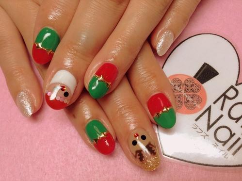 クリスマスネイル★_c0294909_12172627.jpg