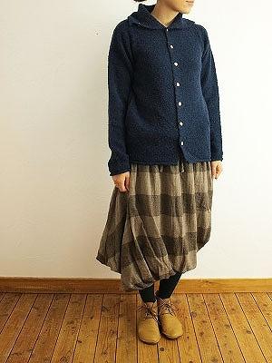 11/25 ichi イチ ウールガーゼボーダースイストバルーンスカート入荷_f0325437_14282410.jpg