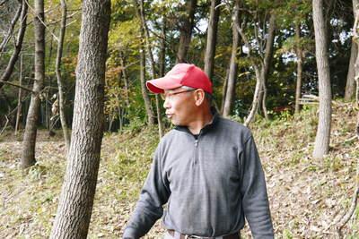 原木しいたけ 2年後の収穫へ向け、原木の伐採 その1_a0254656_19235617.jpg