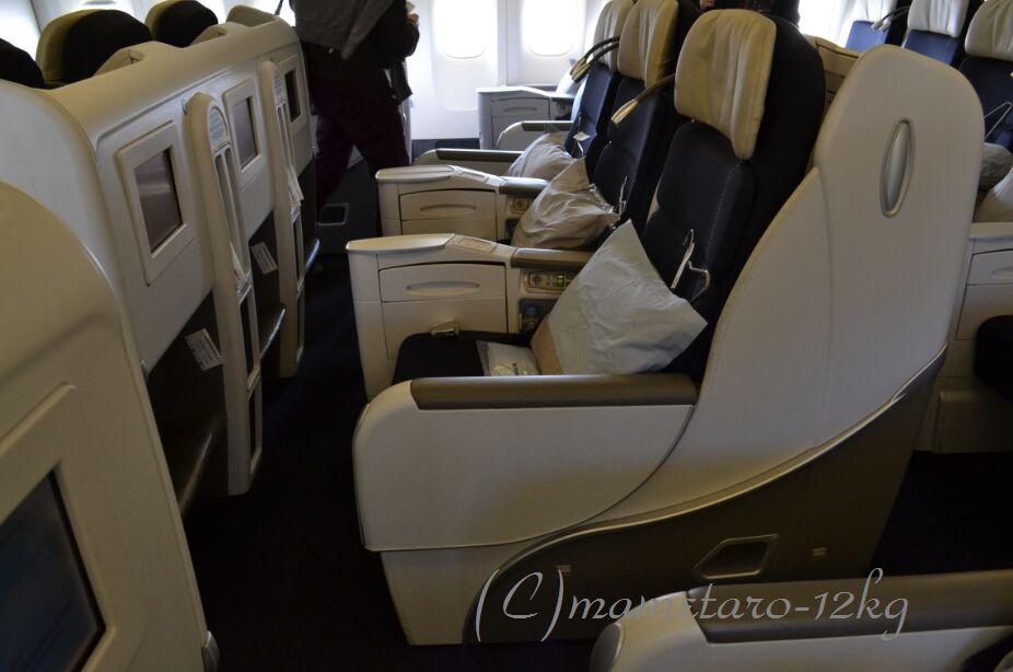 No.2 関空→パリのエールフランス機内 : マメタロウのひとりごと