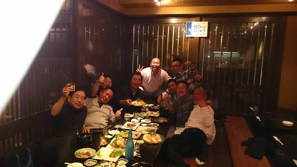 顔は怖いけど、優しくてシャイな男達に、57歳の誕生日を祝って頂きました。_c0186691_1182340.jpg