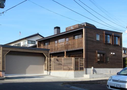 仙台八幡の家:完成引渡1_e0054299_10323971.jpg