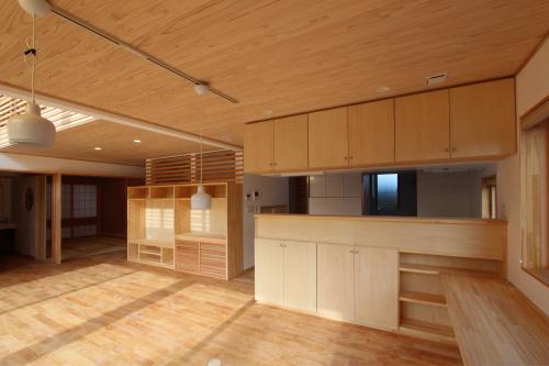 仙台八幡の家:完成引渡2_e0054299_14371099.jpg