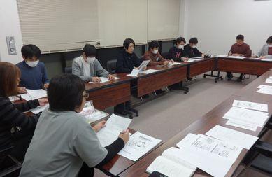 11/26 看護師よる研修を実施_a0154110_11285478.jpg