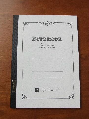 ダイソー・B5無罫ノート。_f0220714_19355783.jpg