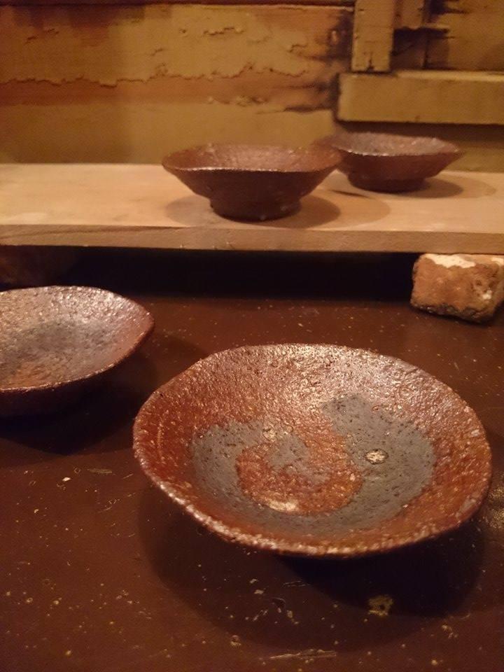 「EDGE OF THE CLAY」のひとこま-その11- 福島誠さんが焼きものに目覚めたきっかけは。_a0213316_21552662.jpg
